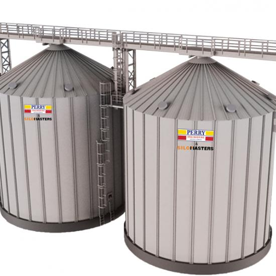 SiloMasters Flat Bottom Silo