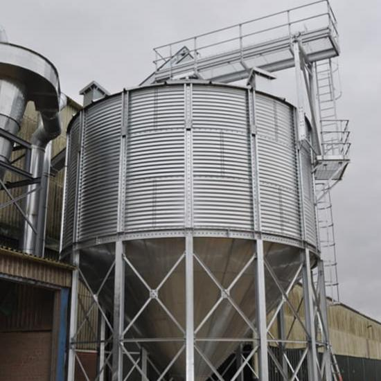 Perry of Oakley dry grain bin