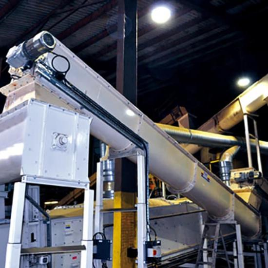 Perry of Oakley industrial screw conveyors